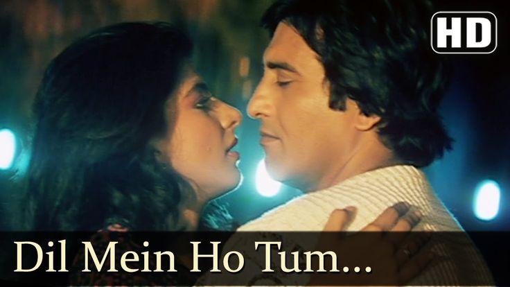 Dil Main Ho Tum - Vinod Khanna - Meenakshi Sheshadri - Satyamev Jayte - Hindi Song - YouTube