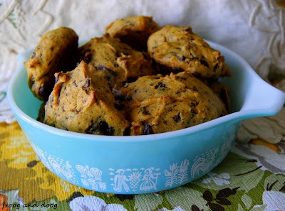 Pumpkin Chocolate Chunk cookies | things to do | Pinterest | Chocolate ...