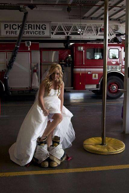 Firefighter Wedding ❤️