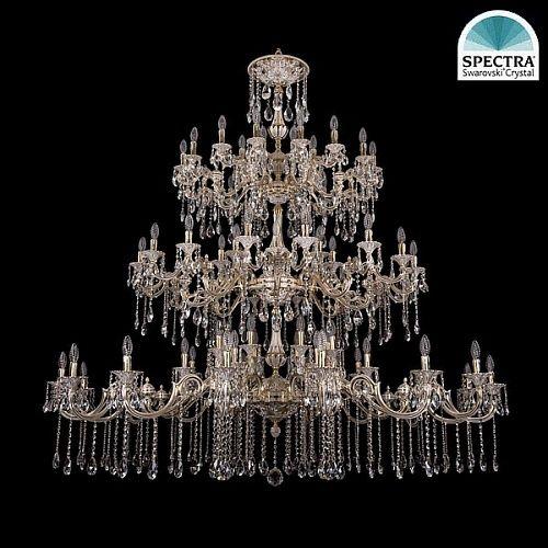 Люстра Большая Bohemia Ivele Crystal 1739/32+24+24/410+335/А/GW swarovski - купить по лучшим ценам в интернет-магазине Декор и Свет