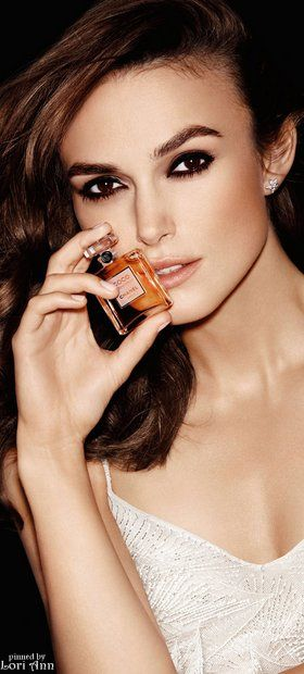 Fashion Makeup   RosamariaGFrangini    Dramatic MakeUP   Keira Knightley for Chanel - Coco Mademoiselle