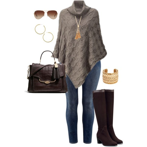 """#plus #size #outfit  """"Wintry Neutrals - Plus Size"""" by alexawebb on Polyvore"""