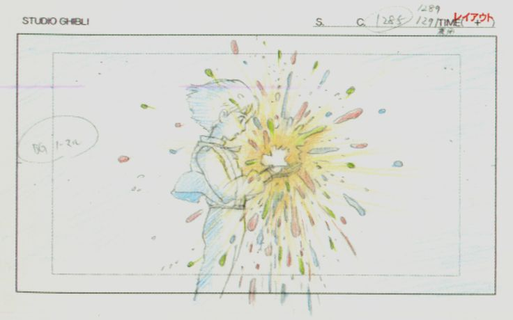 Howl's Moving Castle Studio Ghibli Layout Designs
