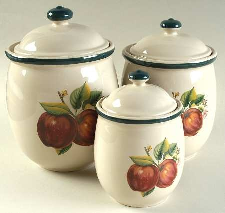123 Best Ceramic Canister Sets Images On Pinterest