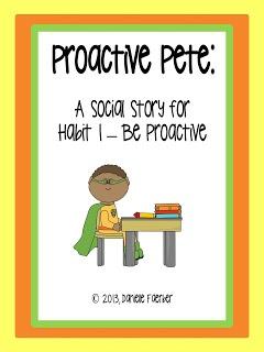 7 habits, habit 1, be proactive story