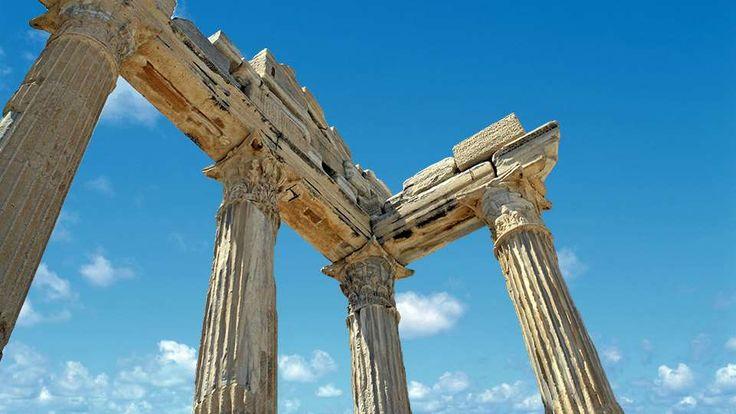Kusadasi Info   The Temples of Apollo & Athena, Turkey Landmarks