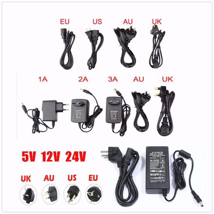UE/US AC 85-245 V Dc 5 V/12V24V/1A 2A 3A 5A 6A 8A 10A Przełącznik Zasilania Sterownika Karty Do 3528 530 5050 Taśmy LED