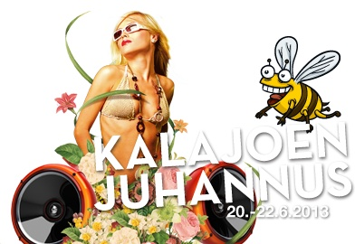 Kalajoki Midsummer Festival http://www.kalajoenjuhannus.com/ #kalajoki #festival #finland #midsummer #music #gigs #pmmp #beach party #pop #rock #party