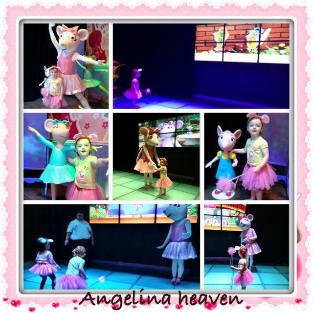 Hanging with Angelina Ballerina at Little Big Club, Johor Bahru, Malaysia