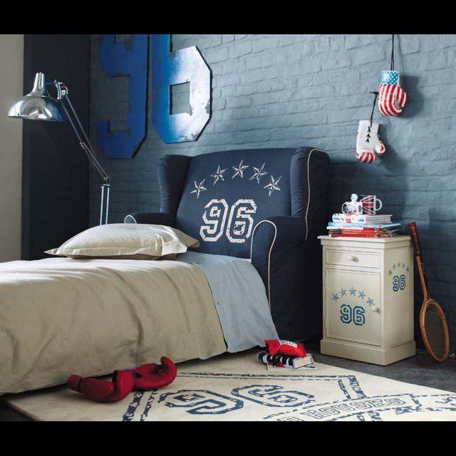 Testata da letto per bambini 90 cm Championship