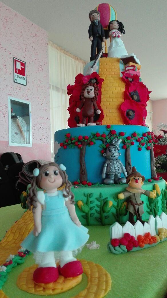 Torta mago di oz. Wedding cake The wizard of oz