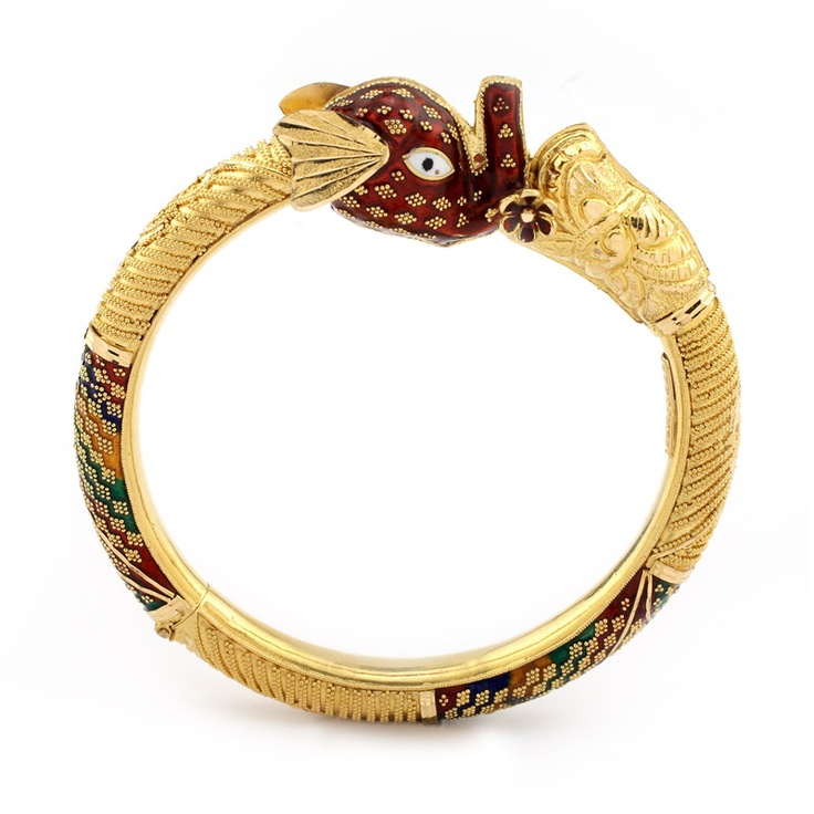 Indian elephant bangle
