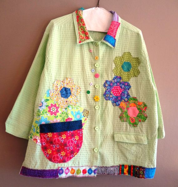 Fits to Plus Size 2  Funky Shirt / Jacket Perfect for by upCdooZ, $54.00