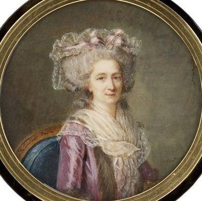 Marie gabrielle capet portrait de fran oise de ch lus for Artiste peintre narbonne