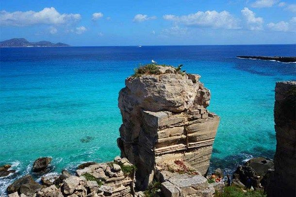 Cala Rossa, Favignana (Trapani) Sicilia #sea #mare #italy