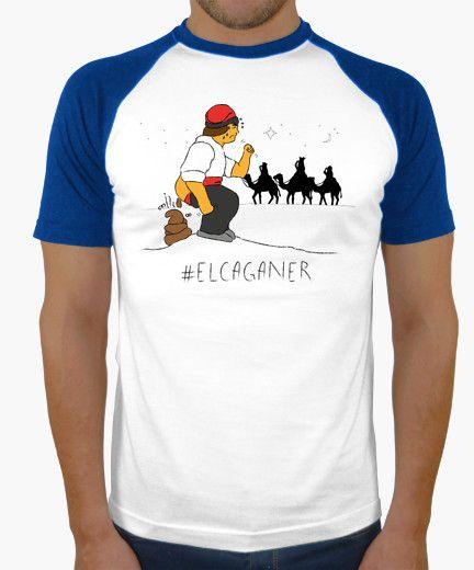 Camiseta El caganer - Samarreta de noi estil beisbol