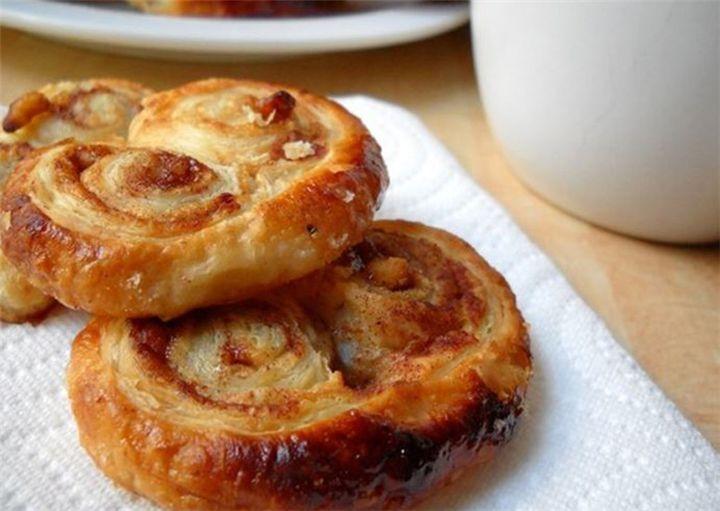 Μπισκότα Palmier με 2 υλικά νηστίσιμα! - Filenades.gr