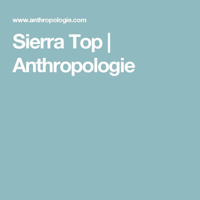 Sierra Top   Anthropologie