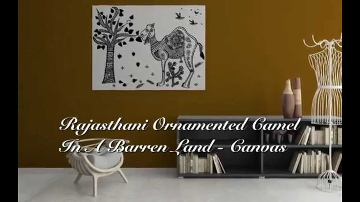 Our Brand New Signature Design of Rajasthani Ornamented Camel in a Barren Land (Canvas Painting)    Buy Now on Amazon: http://mggk.eu/1FIRCbX  #camel #inkart #canvas #paintings #wallart #indianart #wallart #paintings #handdesigned #coffee #mugs #inkart #indianart #mandanaart #rajasthan #india #indiaart #homedecor #interior