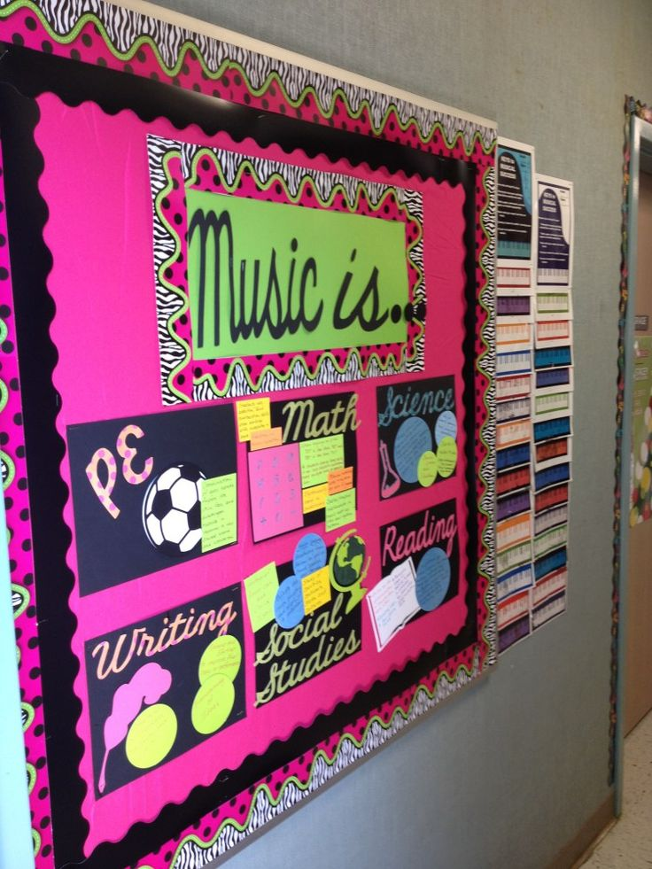 Music Classroom Decoration Ideas : Best music bulletin boards images on pinterest