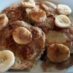 Greek yogurt pancakes (no flour or bisquick)
