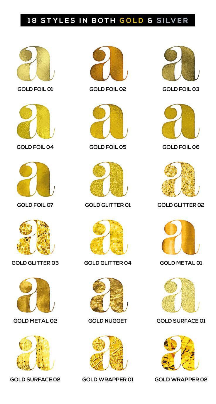 Shimmer & Shine: 100% Vector Gold by Ian Barnard on @creativemarket