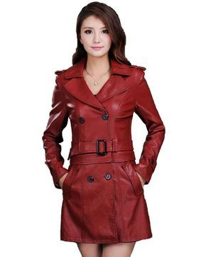 Cheap female leather jackets, Buy Quality fashion leather jacket directly from China leather fashion jacket Suppliers: Women Top Fashion New Winter Slim Dual Use Pu Removable Ladies Faux Synthetic Long Leather Trench Coat Female Leather Jacket