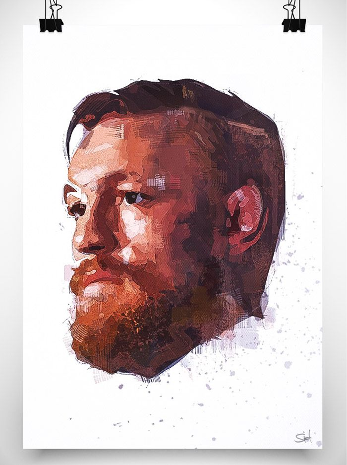 great artwork of fighter Conor McGregor : if you love #MMA, you'll love the #UFC & #MixedMartialArts inspired fashion at CageCult: http://cagecult.com/mma