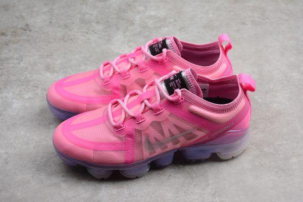 71845c0ecc6fb Womens Nike Air VaporMax 2019 Pink Silver AR6632-600 Online To Buy-3