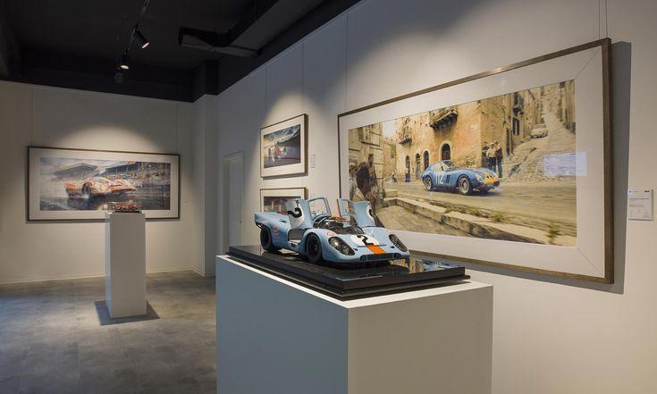 V Praze seotevřela Unique Gallery sunikátními obrazy automobilových závodů