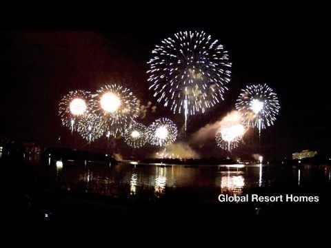 New Year Fireworks at Walt Disney World