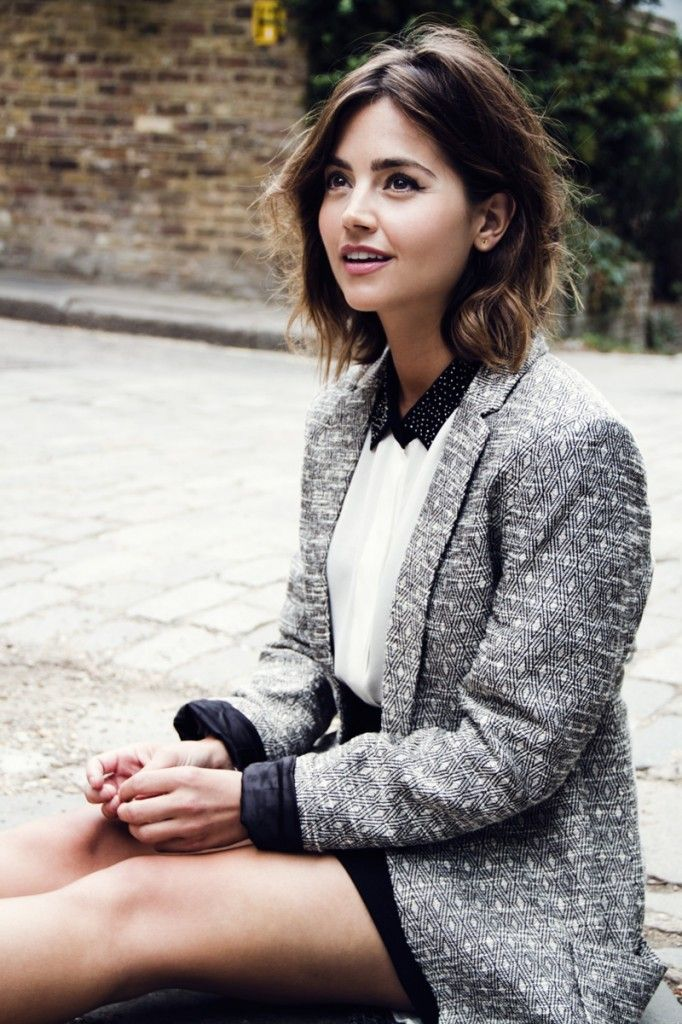 Jenna Coleman in Flaunt Magazine. | http://flaunt.com/people/jenna-coleman/ She is gorgeous and awesome!