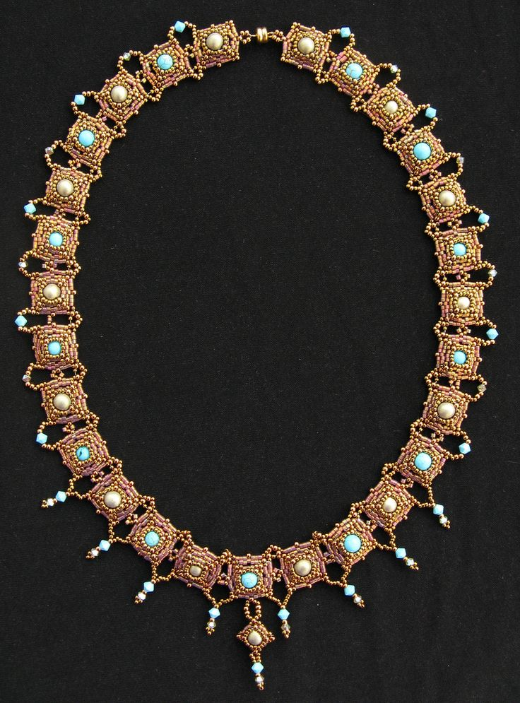 One for All necklace | Made from the genius pattern by Sabin… | Miriam Shimon | Flickr