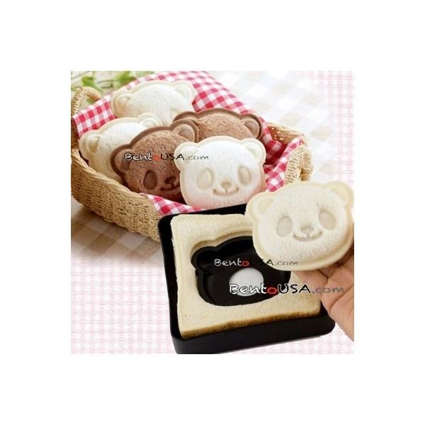 Japanese Bento Lunch Sandwich Cutter Mold Stamp Panda
