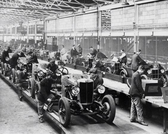 MG Production   MG ABINGDON   Cars, Mg cars, Antique cars