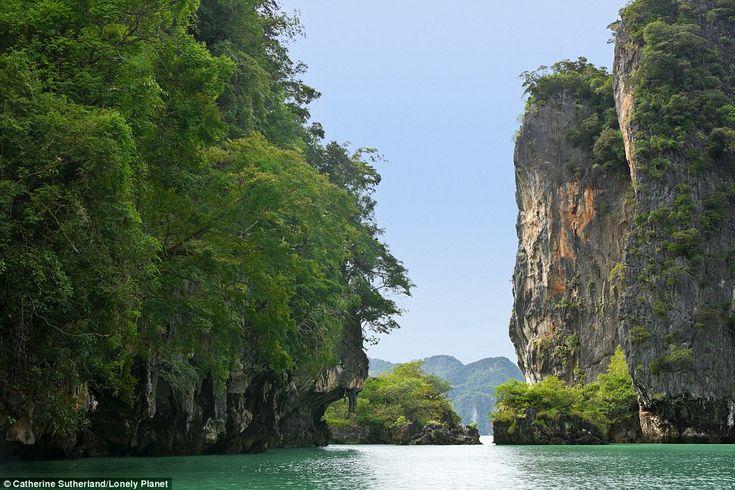 Ao Phang-Nga National Marine Park, Thailand - Established in 1981, Ao Phang-Nga Marine National Park is noted for its classic Karst scenery