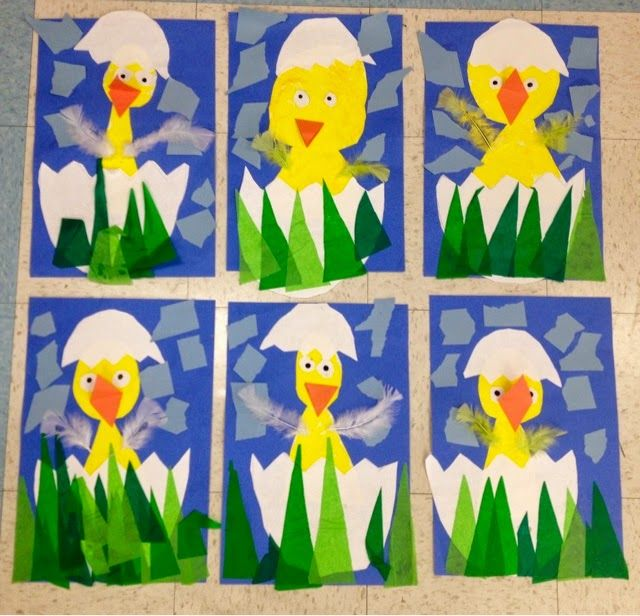 Art with Mr. Giannetto: Kindergarten Chicks