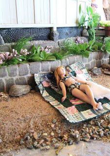 Doll by Taru Astikainen, styling by Hanna & Leijona and setting by Erja Helander: Suvijuhlat - Miniature Midsummer Ball