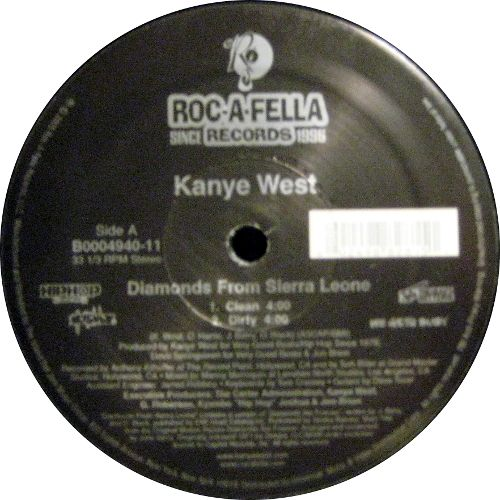 Kanye West - Diamonds From Sierra Leone