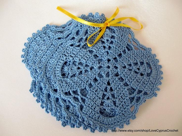Pdf Crochet Coasters, Pattern number 4, Pdf File Crochet Patterns ...