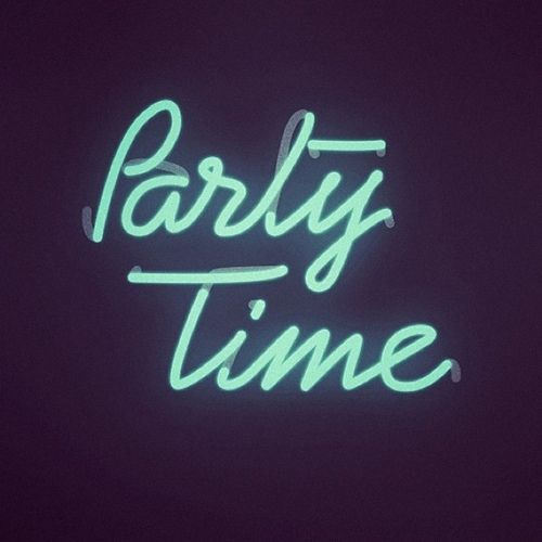 PARTY TIME . NEON