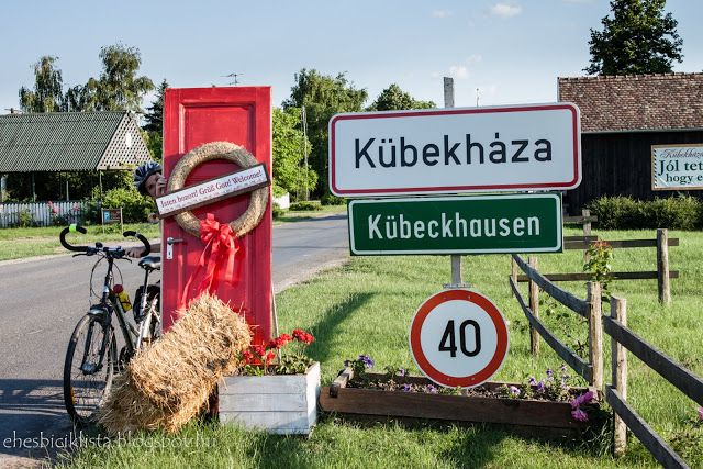 Éhes biciklista: Kedvenc falum a környéken: Kübekháza