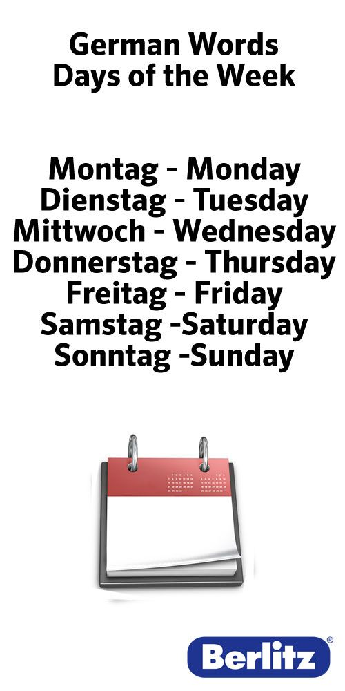 German Words - used to know these like the back of my hand.  lol