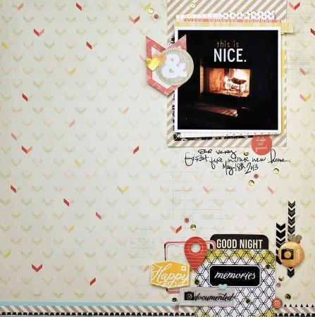 This Is Nice - Cocoa Daisy Scrapbooking Blog - Froth From the Daisy Patch