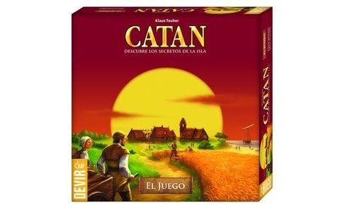 Los Colonos de Catán (juego base) • ¿Serás el mejor productor, comerciante o constructor para colonizar la isla de Catan?