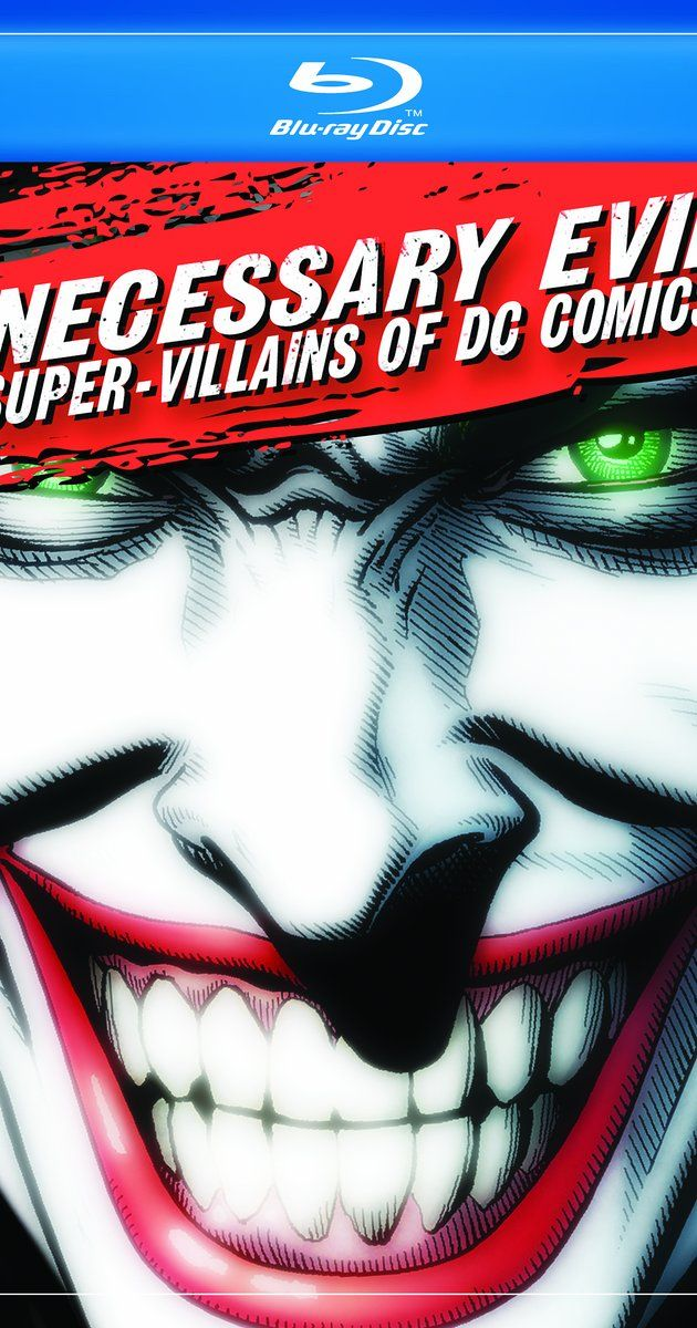 Directed by Scott Devine, J.M. Kenny.  With Christopher Lee, Neal Adams, Brian Azzarello, Claudia Black. A documentary detailing the epic Rogues' Gallery of DC Comics from The Joker and Lex Luthor, Sinestro, Darkseid and more, this documentary will explore the Super Villains of DC Comics.