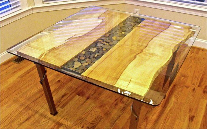 152 best live edge table ideas images on pinterest diner for Finishing live edge wood