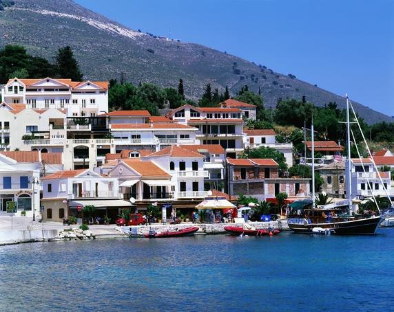 Agia Efimia Resort on Sami Bay.