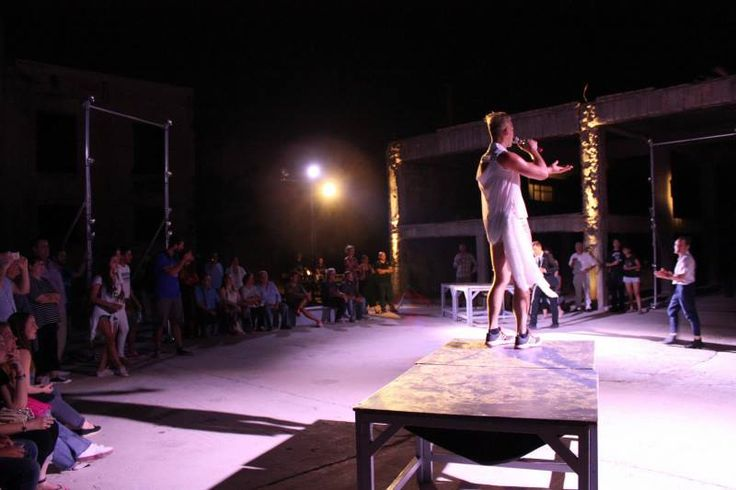 "Highlights from yesterday's premiere of the ""landing_an odyssey"" performance at the Old Oil Mill of Eleusis, by the group of the intercultural pan-European project ""Meeting the Odyssey""."