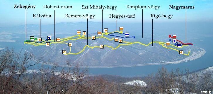 Szt.Mihály-hegy környéke,Börzsöny